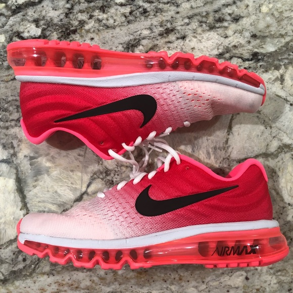 buy popular 6b826 93232 Nike Women's Air Max 2017 Sample Pink Burst NWT